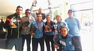 Uruguay vicecampeón femenino y masculino en el Sudamericano de media maratón de Paraguay