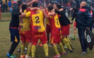 Villa Española ascendió a Primera División. Foto:@elascensouy