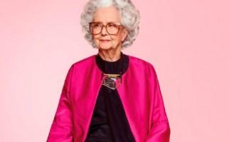 Vogue presenta una modelo de 100 años para su portada centenario.