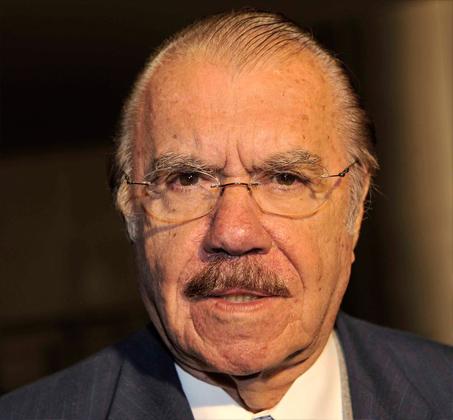 José Sarney, ex presidente brasileño. Foto: Wikimedia Commons.