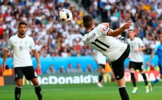 Alemania venció 3 a 0 a Eslovaquia y está entre los ocho mejores del torneo. Foto: @UEFAEURO