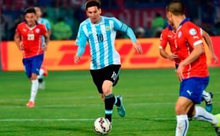 Argentina buscará revancha frente a un Chile que quiere reafirmarse como Rey de América. Foto: AFP
