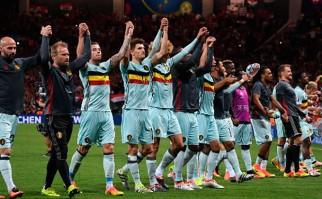 Bélgica goleó a Hungría y está en cuartos de final de la Euro. Foto: @UEFAEURO