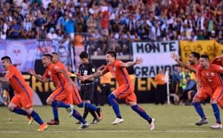 Chile campeón de la Copa América tras vencer a Argentina por penales . Foto: @CA2016