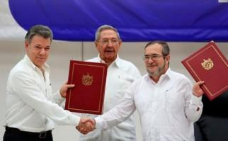 Las armas de las FARC se fundirán para hacer 3 monumentos: uno en la ONU, otro en Cuba y otro en Colombia. Foto: REUTERS