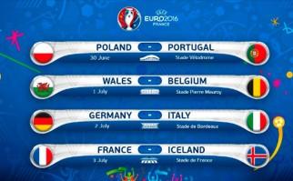 Comienzan los cuartos de final de la Eurocopa 2016. Foto: @UEFAEURO