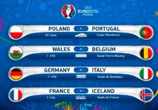 Comienzan los cuartos de final de la Eurocopa 2016