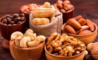 Frutos secos, aliados de las dietas vegetarianas por sus proteínas. Foto: Shutterstock