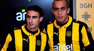 Guzmán Pereira y Juan Martín Boselli se incorporaron a Peñarol en el inicio de la pretemporada