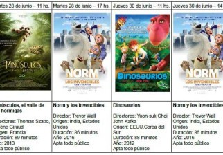 Disfrutar las vacaciones de invierno: Cine para niños en Cerro y Casavalle