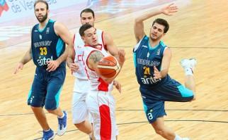 Uruguay venció a Chile en el Sudamericano de Caracas y avanzó a las semifinales. Foto: FIBA AMÉRICAS