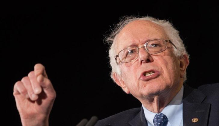 Bernie Sanders. Foto de archivo