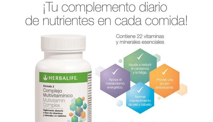 6570d8386 Herbalife lanzó un Complejo Multivitamínico con 22 vitaminas y ...