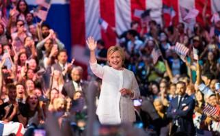 Hillary Clinton se convirtió oficialmente en la primera mujer candidata a la Presidencia de EE.UU.. Foto: @HillaryClinton
