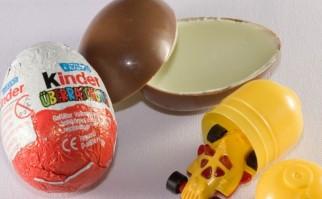 """""""Kinder überraschung"""", la versión alemana del chocolate. Foto: Wikimedia Commons."""