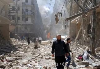 ONU advierte que hasta 300.000 personas están en riesgo de quedar atrapadas en Alepo