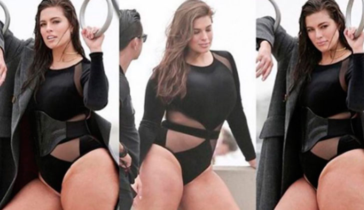 Ashley Graham responde a quienes critican su celulitis.