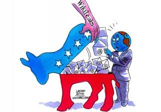 WikiLeaks divulgó mensajes de voz que reafirman el sabotaje del Partido Demócrata a Sanders