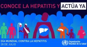 """OMS celebra el día mundial contra la hepatitis con el lema """"prevenir la hepatitis, actuar ya"""""""