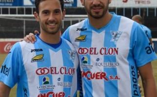 Nano Ramos (izq) y Bruno Piñatares Prieto, ambos del Cerro. Foto: C.A. Cerro.