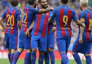 Barcelona con Suárez y Messi en cancha ganaron su primer amistoso