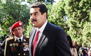 Foto de archivo de Nicolás Maduro durante una visita en 2013 a Uruguay. Foto: Archivo Presidencia del Uruguay.