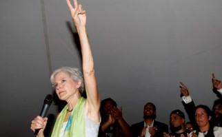 Jill Stein del partido verde se propone como una opción para los votantes de Sanders . Foto: AP