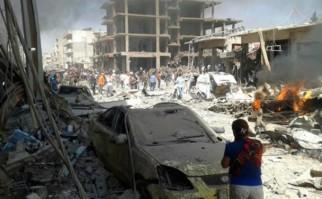 Al menos 50 personas murieron tras un atentado del EI en el norte de Siria. Foto: AFP