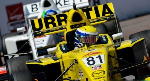 Santiago Urrutia obtuvo la victoria en la primera carrera de Mid Ohio
