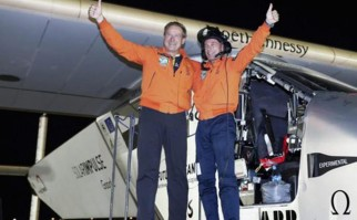 El 'Solar Impulse 2' finalizó su vuelta al mundo.
