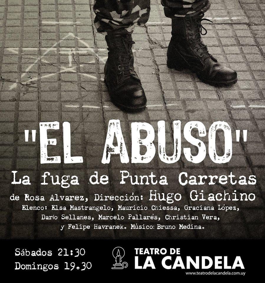"""Obra teatral """"El abuso"""", un encuentro con la historia reciente basada en la fuga histórica de la cárcel de Punta Carretas."""