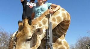 Joven cazadora de 12 años de edad causa indignación y repudio