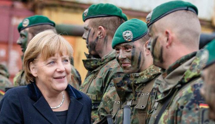 Alemania autoriza el uso del Ejército en el interior del país sin modificar la Constitución. Foto: @REUTERS