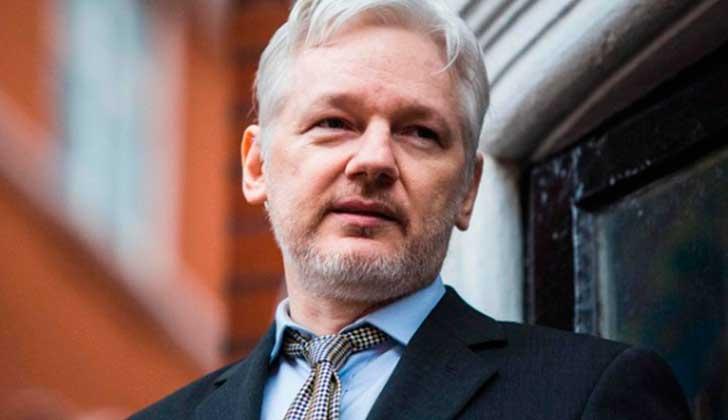 Assange podrá ser interrogado por Suecia en la embajada de Ecuador en Londres. Foto: AFP
