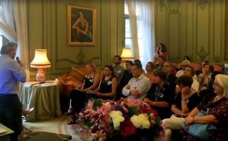 4º Encuentro Regional de Consejos Consultivos del Departamento 20, en la Embajada de Uruguay en París. Foto: MRREE.