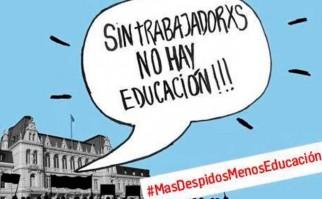 Argentina: Denuncian nueva ola de despidos en el Ministerio de Educación. Foto: Twitter