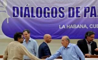 El Gobierno Colombia y las FARC finalizan negociaciones de paz. Foto: @Reuters