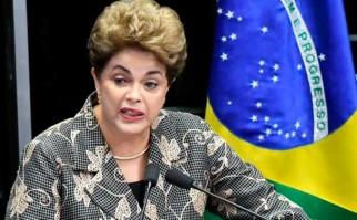"""Dilma Rousseff ante el Senado: : """"No lucho por mi mandato por vanidad o por apego al poder, lo hago por la democracia"""". Foto: EFE"""