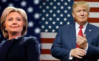 El 57% de los estadounidenses no quiere votar por Clinton ni Trump. Fotos AFP