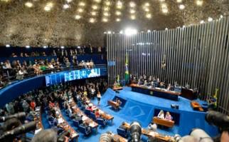 """En la recta final del impeachment el abogado de Dilma remarca que """"el único que tiene poder para juzgarla es el pueblo"""". Foto: EFE"""