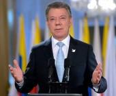 """Juan Manuel Santos: """"Empieza una nueva historia para Colombia. Silenciamos los fusiles. ¡Se acabó la guerra con las FARC!"""""""