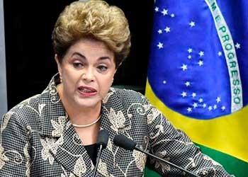 """Dilma Rousseff ante el Senado: """"No lucho por mi mandato por vanidad o por apego al poder, lo hago por la democracia, por la verdad y por la justicia"""""""