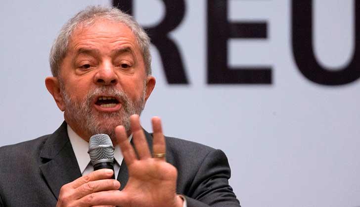 """Lula denuncia una conspiración de la derecha en América Latina y asegura """"Temen que en 2018 el pueblo pueda elegirme"""". Foto: EFE"""