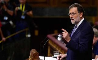 Mariano Rajoy pierde la primera votación de investidura. Foto: AFP