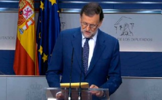 Socialistas ratifican que votarán en contra de Mariano Rajoy durante el proceso de investidura, por lo que probablemente el líder del PP no alcanzará los votos para formar Gobierno.