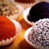 Deliciosas trufas de chocolate y almendras, 100% veganas