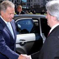 Presidente de Finlandia, Sauli Niinistö, resaltó que Uruguay es un lugar interesante para inversores de su país y no solo del sector forestal