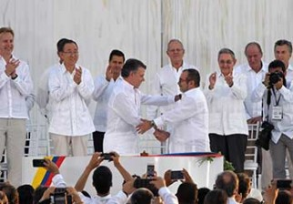 Fin de la guerra para Colombia: el Gobierno y las FARC firmaron el Acuerdo Final de Paz