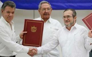 Cartagena de Indias se prepara para recibir a más  2.500 invitados que serán testigos de la firma del Acuerdo de Paz para Colombia. Foto: archivo @JuanManSantos