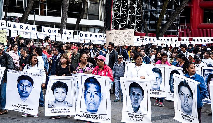 Investigación contradice versión oficial sobre caso Ayotzinapa. Foto: Portal Somos El Medio.
